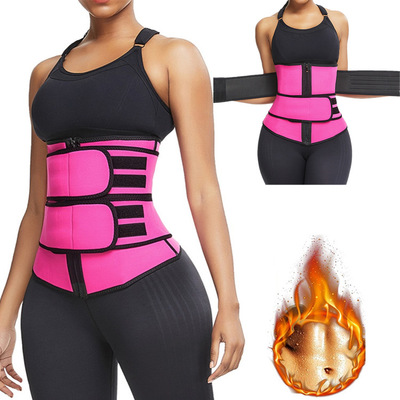 New Neoprene Women Body Shaper Fitness Waist Trainer Reducing Belt for Female Fat Burning Tummy Control