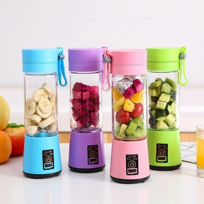 Portable Multi-Blades Juicer Cup USB Rechargeable Blender Vegetables Fruit Milkshake Online