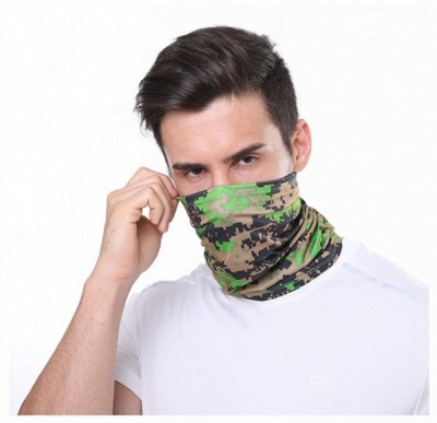 Cooling Military Camo Neck Gaiters