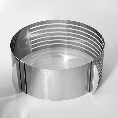 New Arrival Cake Cutter Stainless Steel   A Grade ABS DIY For Bread Cake Round Cake Molds_2