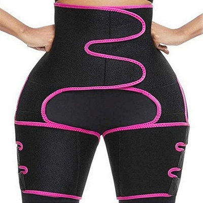 Women Body Suit Sweat Belt Shaper Premium Waist Trimmer Belt Waist Trainer Corset Shapewear