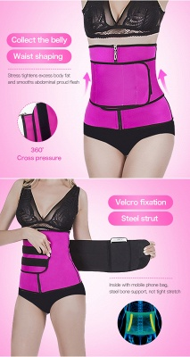 Adjustable Waist Trainer Trimmer Belt Fitness Body Shaper Back Support For An Hourglass Shaper Gym Waist Cinchers_9