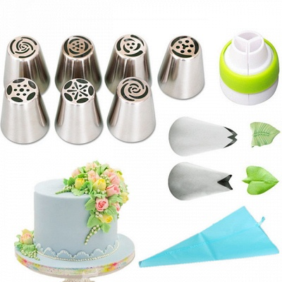 1 set Cake Molds Bakeware tools Stainless Steel A Grade ABS Eco-friendly_4