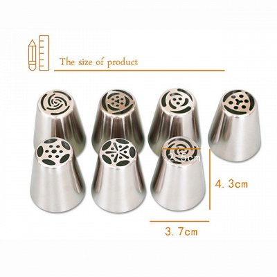 1 set Cake Molds Bakeware tools Stainless Steel A Grade ABS Eco-friendly_2