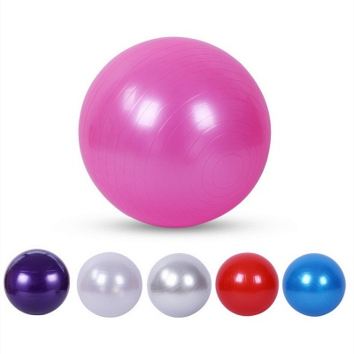 Yoga Balls Bola Pilates Fitness Gym Balance Fitball Exercise Pilates Workout Massage Ball_6